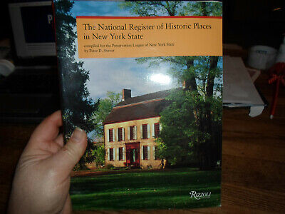 New York State National Register Of Historic Places Illustrated Softcover Book