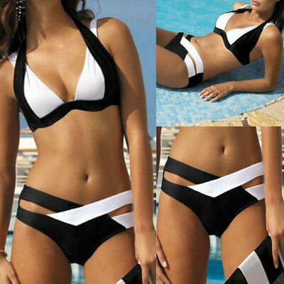 Monokini Women Bikini Swimwear Push-up Sexy Bra Swimsuit Bandage Bathing Suit