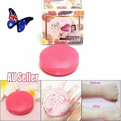 1~5X Instant Miracle Whitening Natural Soap Alpha Arbutin Skin Care Oil Control