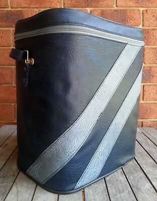 Vintage Retro Cooler Chiller Bag Insulated Picnic Beach Travel Soft Sided Carry
