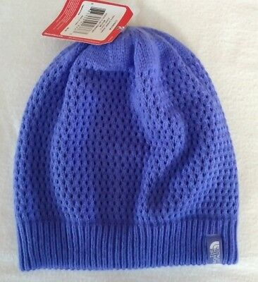 176481f31c365 The North Face Youth Junior Shinsky Beanie Winter Hat Starry Purple Sz M NWT