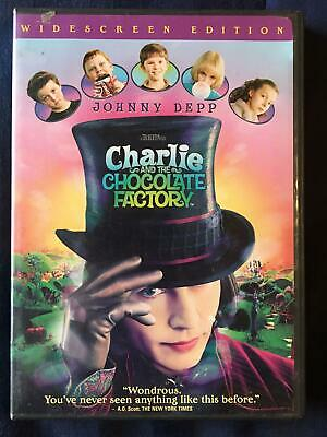 Charlie and the Chocolate Factory (DVD, 2005, Widescreen) - F0224