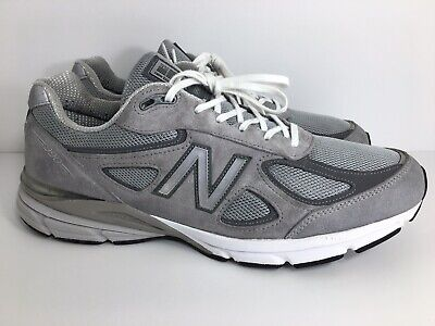 premium selection 406fd ce902 MENS NEW BALANCE 990v4 Made In USA| Grey Castlerock Size 14 M