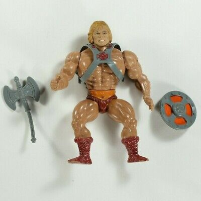 1981 Mattel Masters of the Universe MOTU He-Man Action Figure Toy 1980s Eighties