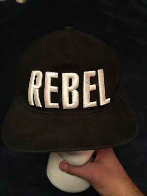 ef50f6d0ded6e Disney Parks Star Wars Black Rebel Baseball Cap Hat Authentic Youth