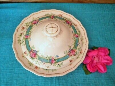 Vintage Royal Doulton Tureen Estelle D6149 Rare Lidded Excellent Condtion