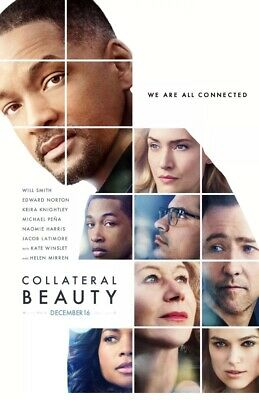 Collateral Beauty 2016 Original 27 X 40 Movie Poster D/S Will Smith Edward N.
