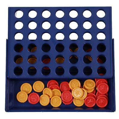 Connect Four In A Row 4 In A Line Board Game Kid Children Fun Educational Toy YI