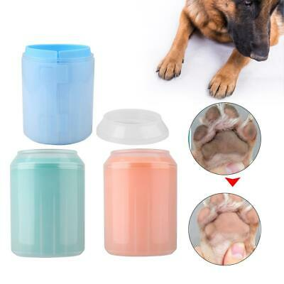 Dog Cleaner Pet Cup Foot Cleaning Paw Brush Portable Clean Tool Washing Washer