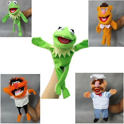 12' Doll Hand Muppets Most Wanted Show Kermit the Frog Plush Puppet Toy Gift