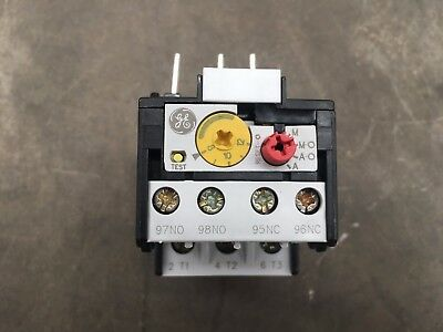 Ge Overload Relay Rt1N Ref 113710 Auto/manual 8-12A Industrial Electrical