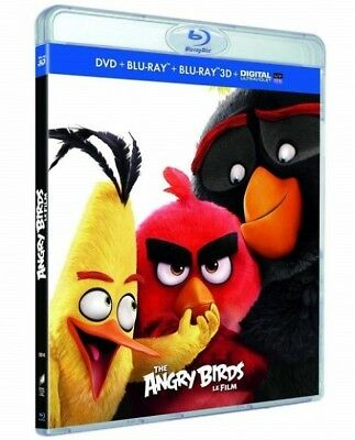 Angry birds the film COMBO BLU-RAY 3D + Blu-Ray + DVD NEW BLISTER PACK