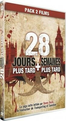 28 Jours plus later + 28 weeks Plus later DVD NEW BLISTER PACK