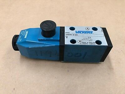 Vickers DG4V-3-2A MU H7 30 Solenoid Directional Control Valve hydraulic