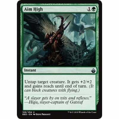 foil Aim High MTG BATTLEBOND