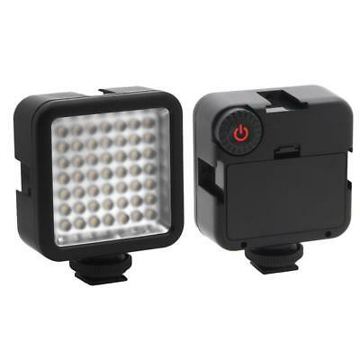 W49 Mini Camera LED Video Light Shoe Mount Adapter for Canon DSLR DV SALE
