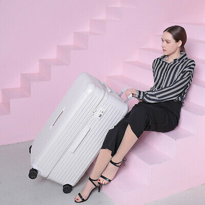 ABS+PC material Rolling Luggage Bags Shell TSA Lock Travel Trolley Case Suitcas