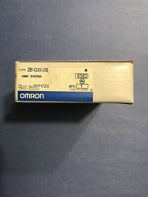 OMRON ZE-Q22-2S Limit Switch
