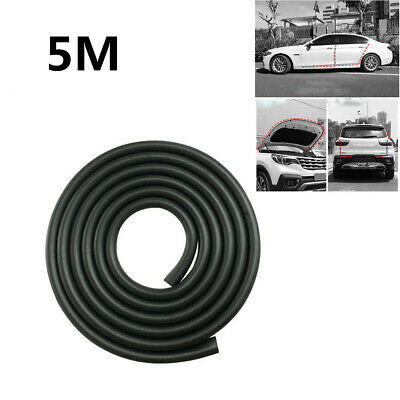 Soft U-Shape 5M Rubber Seal Weather Strip Protector Car Truck Door Edge Guards