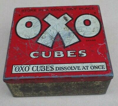 Vintage Oxo Tin (Empty)
