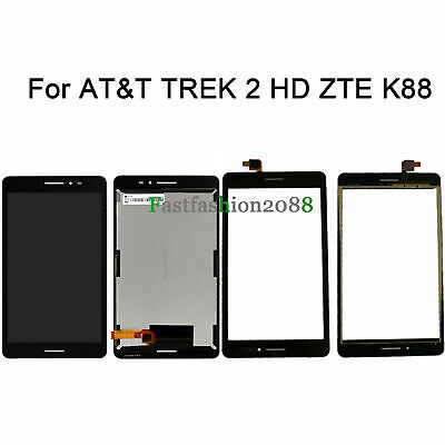 Touch Screen Digitizer LCD Display Replace For AT/&T Trek HD 9020A Black