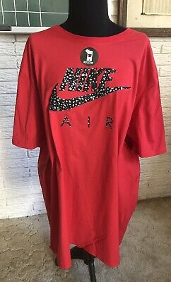 558320a350546 New NIKE Air Max Splatter Logo Reflective React Vapormax T-Shirt! ! 2XL