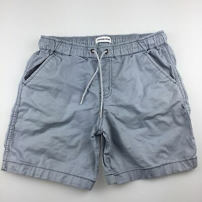 Boys size 10, Country Road, grey stretch cotton shorts, elasticated, FUC