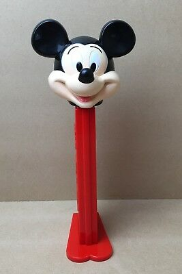 Large 30cm Animated Mickey Mouse Pez Candy Sweet Dispenser Disney Collectable