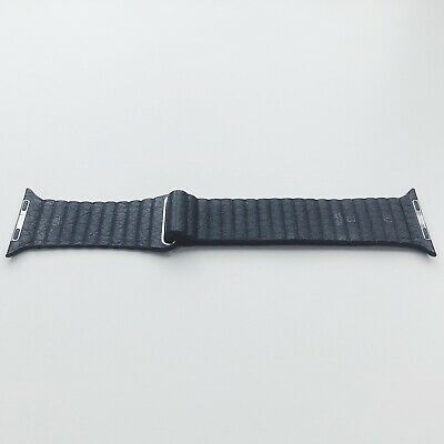Apple Watch Leather Loop - Black - Size Large - 44mm/ 42mm - FAST & FREE P&P!!