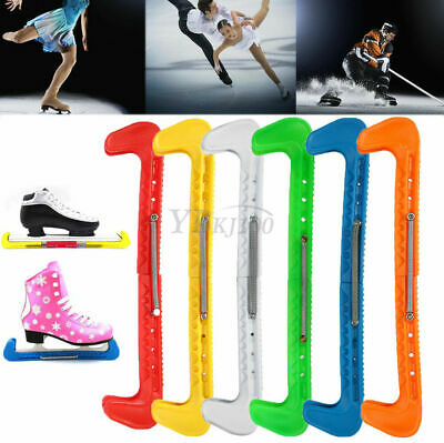 7 Color Ice Hockey Figure Skate Walking Blade Guard Protector Covers Adjustable