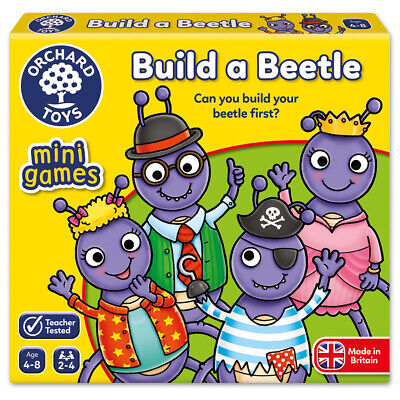 NEW Orchard Toys Build A Beetle Mini Game