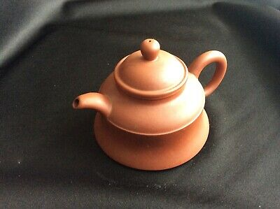 Antique Brown Chinese Teapot In Perfect Condition