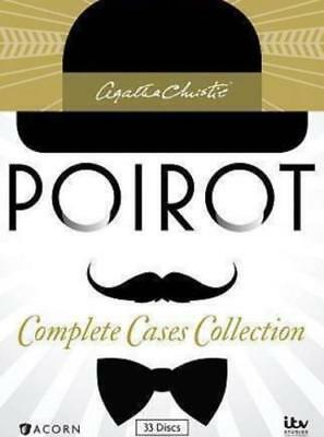 Agatha Christies Poirot: The Complete Series Collection (DVD, 2014, 33-Disc Set)