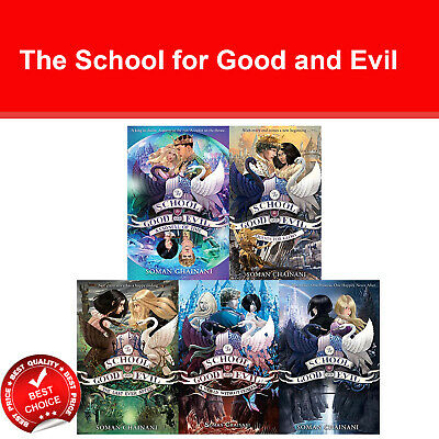 School for Good and Evil 1-5 series Soman Chainani 5 books collection set NEW