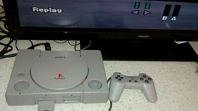 MITICA Console Sony PLAYSTATION 1 PS1 PAL  SCPH-5502 PAL + JOY ORIG. LEGGE TUTTO