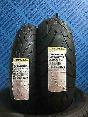 Coppia Gomme Moto Scooter 120/70/15 + 160/60/15 Dunlop Sportmax Rd Smart 3F