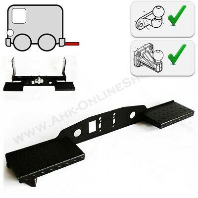 Heavy Duty Towbar Mounted Double Rear Step for Flange Towball 2 / 4 hole Towstep