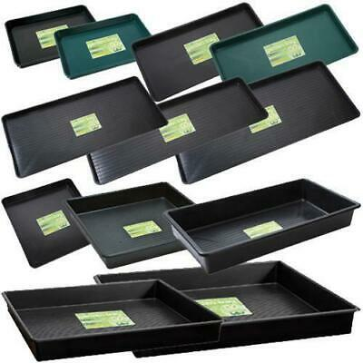 Garland Garden Trays All Sizes + Quantities Full Range Black Plastic