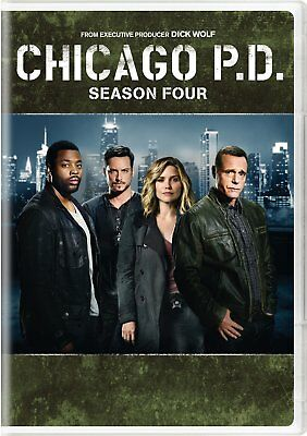 Chicago P.D.The Complete Fourth Season Four (W/Slipcover 5-Disc Set) New