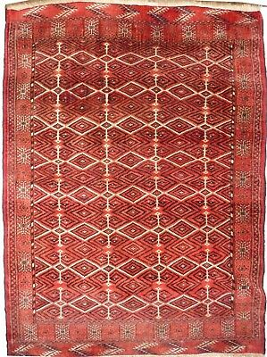 Tapis Persan Traditionnel Oriental hand made  192 cm x135 cm  N° 37