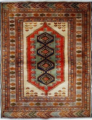 Tapis Persan Traditionnel Oriental hand made 185 cm x130 cm  N° 42