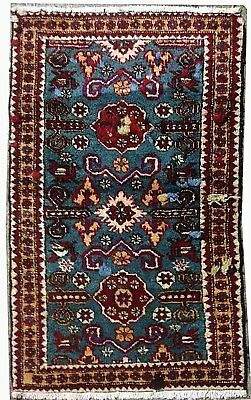 Tapis Persan Traditionnel Oriental hand made 102 cm x65 cm  N° 81