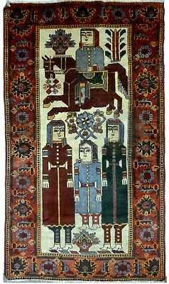 Tapis Persan Traditionnel Oriental hand made N° 23