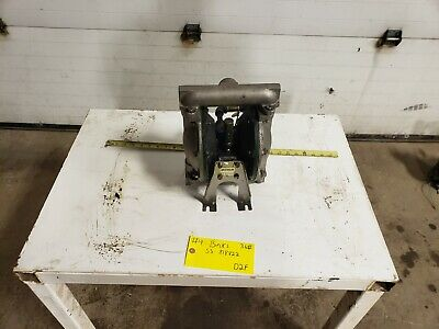 "Binks 818822 1"" Double Diaphragm Pump Stainless Steel"
