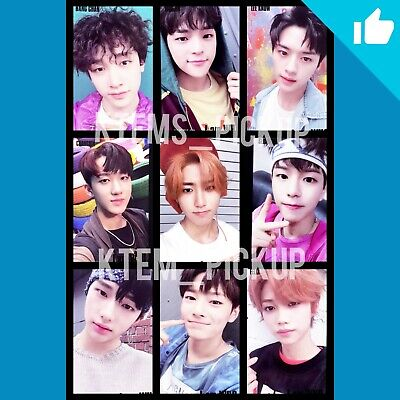 Stray Kids I am who album official Photocard : Black Selfie ver.