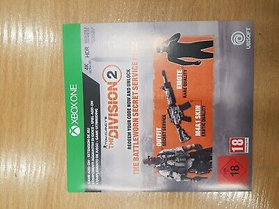 Tom Clancys The Division 2 Battleworn Secret Pack DLC XBOX ONE Code ONLY NO GAME