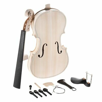 Acoustic Violin Fiddle Kit With EQ Spruce Top Maple Fingerboard Solid Wood New