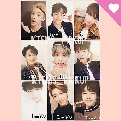 Stray Kids I am YOU album official Photocard : selfie ver.C I am You typing