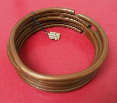 Fine Set Of 6 South African Zulu Xhosa Ndebele Copper Neck Rings With Label Nr!