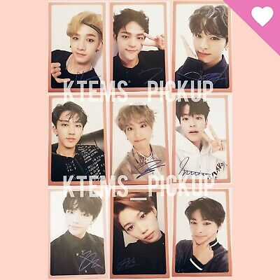 Stray Kids I am YOU album official Photocard : selfie ver.C Pink Line with sign